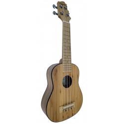 Ukelele Soprano de Bambú...